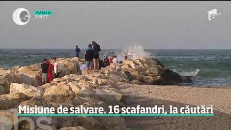 Operaţiune de salvare dramatică în staţiunea Mamaia! Un elev de 16 ani a dispărut în mare