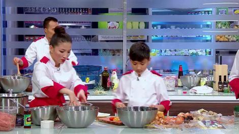 Chefi la cuțite. Echipele gătesc cel de-al doilea preparat. Florin Dumitrescu: Ce au femeile din ziua de azi, omoară bărbații pe aici?