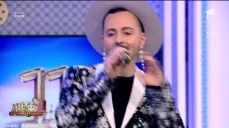 Kalon Rae cântă, la Neatza cu Răzvan și Dani, melodia The Real Thing