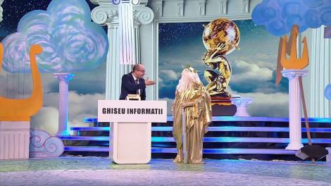 Scena Misterelor. Cât de tare e Masca Zeus! Scenetă la ghișeul de informații: Când pleacă primul nor spre Olimp?