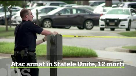 Un nou atac armat în Statele Unite. 12 oameni au fost ucişi