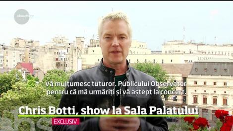 Trompetistul Chris Botti, unul dintre cei mai bine vânduţi artişti americani ai momentului, va avea primul show în România