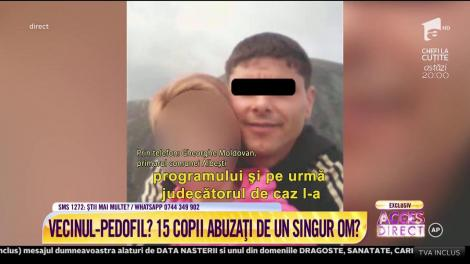 Acces Direct. Primarul comunei Albeşti, declarații despre cei 15 copii ar fi fost abuzaţi de acelaşi bărbat: El a recunoscut o parte din lucrurile care s-au întâmplat