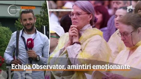 Echipa Observator a călătorit lângă Papă. Cum a fost experiența