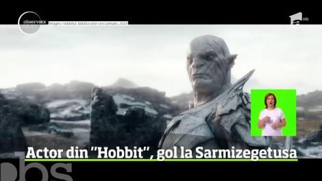 Un faimos actor din filmul Hobbit va fi anchetat penal de autorităţile române după ce a fost filmat gol în cetatea dacică Sarmizegetusa