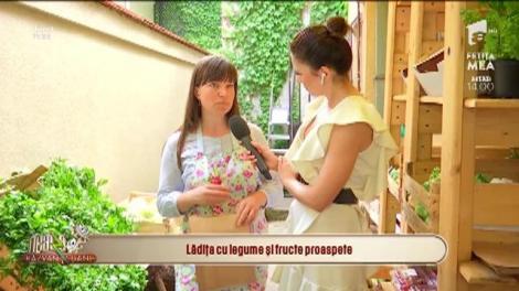 Neatza cu Răzvan și Dani. Lădița cu legume și fructe proaspete, direct pe mesele românilor