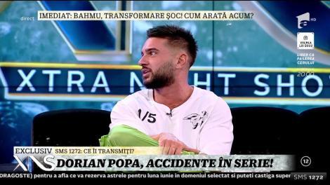 Dorian Popa, accidente în serie: Nu știu dacă câinele este bine