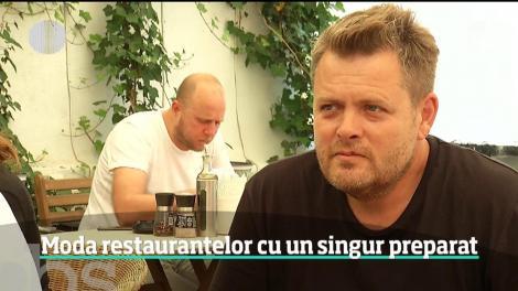 Reţeta succesului e mai simplă decât pare! Restaurantele cu un singur preparat fac furori printre români