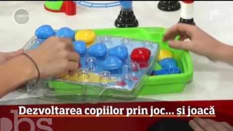 Ce jucării sunt potrivite pentru dezvoltarea inteligenței copilului