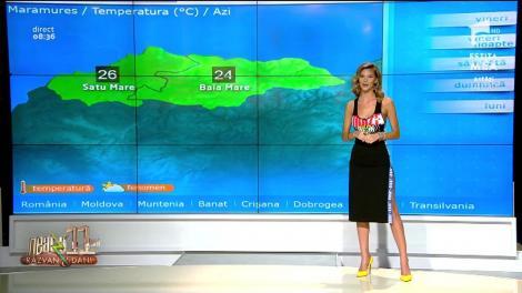 Neatza cu Răzvan și Dani. Prognoza meteo zilei 7 iunie 2019. Vreme instabilă în majoritatea zonelor țării