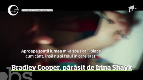 Irina Shayk şi Bradley Cooper s-ar fi despărţit!