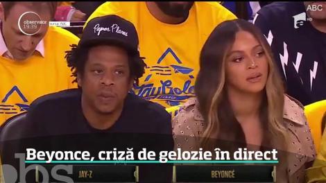 Beyonce, criză de gelozie în direct! A împins o femeie de lângă soțul ei - Video