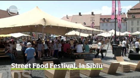 Street Food Festival, la Sibiu. Fructele de mare au fost cap de listă la festival