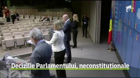 Criză politică fără precedent în Republica Molodva. Deciziile Parlamentului, neconstituționale, conform Curţii Constituţionale