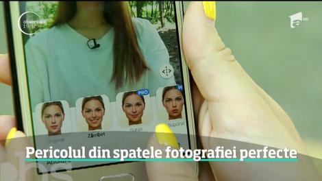 O aplicaţie care ne înfrumuseţează chipurile în poze câştigă tot mai mult teren. Pericolul din spatele fotografiei perfecte