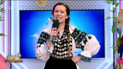 Florina Oprea cântă, la Neatza cu Răzvan și Dani, melodia După badea-npiedicat