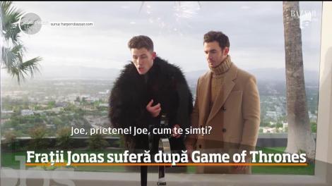 Frații Jonas suferă după încheierea seriei Game of Thrones