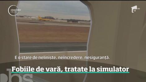 Frica de avion nu se mai tratează cu pastile sau cu un pahar de alcool, ci printr-o experienţă virtuală