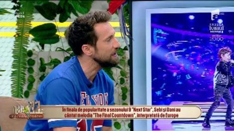Vă aduceți aminte de Sebi și Dani, rockerii de la Next Star? Puștii au făcut mega show la Neatza cu Răzvan și Dani