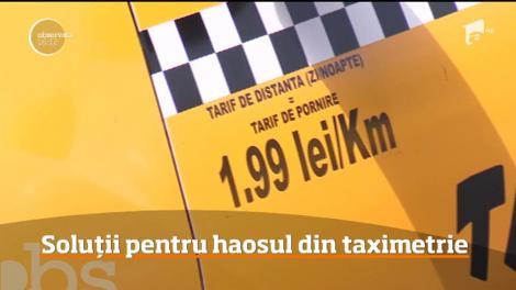 Care sunt soluțiile pentru haosul din taximetrie