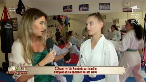 312 sportivi din România participă la Campionatul Mondial de Karate WUKF