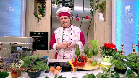 Rețeta zilei - Neatza cu Răzvan şi Dani. Clătite roșii umplute cu guacamole
