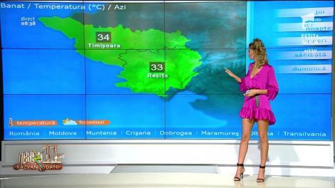 Prognoza meteo 13 iunie 2019. Ramona Olaru: Vreme deosebit de caldă!
