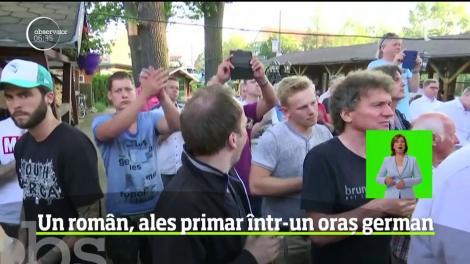 Un român a fost ales primar al unui oraş cu 56.000 de locuitori din estul Germaniei