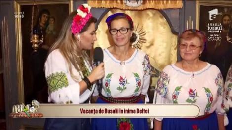 Neatza cu Răzvan și Dani. Vacanța de Rusalii în Delta Dunării. Tradiții și obiceiuri din satul pescăresc Crișani