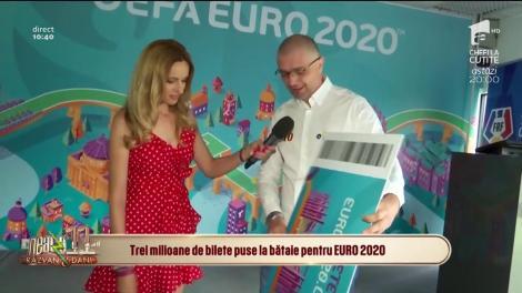 Neatza cu Răzvan și Dani. Biletele la EURO 2020 se vând exclusiv online. Cât costă un bilet și cum poate fi achiziționat