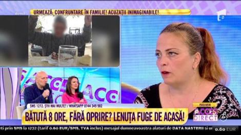 """Lenuţa, femeia terorizată de soţ şi de familia acestuia: """"Am avut de două ori tentativă de sinucidere"""""""