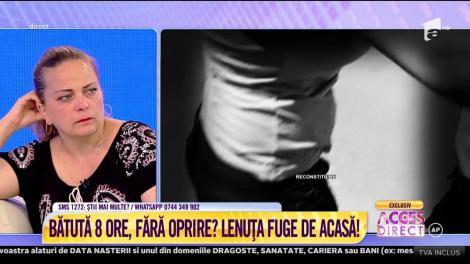 """Elena Dumitru, soacra Lenuţei, demontează acuzaţiile nurorii: """"Ea este cea care m-a bătut! Nu a ameninţat-o nimeni cu cuţitul!"""""""