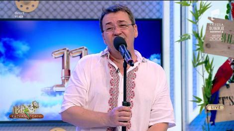 Florin Chilian cântă, la Neatza cu Răzvan și Dani, melodia - Atât de frumoasă