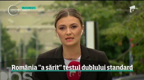 România nu a participat la testele dublului standard