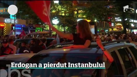 Înfrângere pentru Recep Tayyip Erdogan. Candidatul opoziţiei a câştigat primăria Istanbulului
