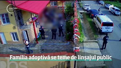 Părinții adoptivi ai Sorinei, fetița din Mehedinți, se tem de un linșaj public! Cei doi susțin că ar fi fost șicanați în trafic