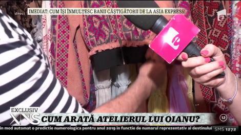 Xtra Night Show. Imagini din atelierul lui Adrian Oianu: Eu fac design identitar românesc