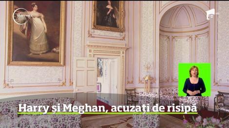 Scandal Marea Britanie din cauza casei cu zece dormitoare a prinţului Harry şi a soţiei sale, Meghan Markle