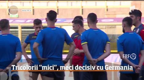 Naţionala de tineret are, din nou, mari emoţii! Tricolorii vor înfrunta echipa Germaniei
