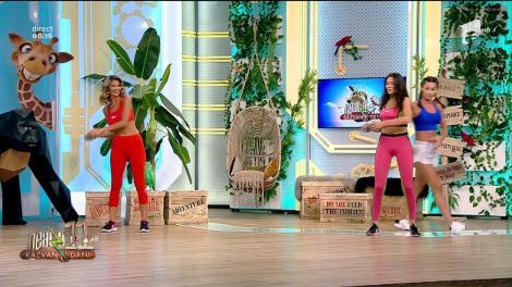 Vrei să începi să faci sport? Ia-ți o ganteră de două kilograme și urmează instrucțiunile: Fitness cu Diana Stejereanu