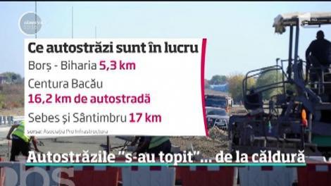 Autostrăzile din România se construiesc rapid doar pe hârtie