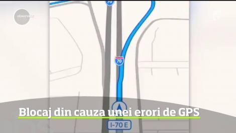 GPS-ul le-a jucat feste şoferilor, în Statele Unite. Peste 100 de oameni au ajuns în mijlocul pustietăţii, din cauza unor erori