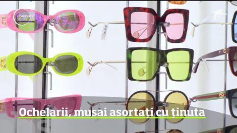 Ochelarii de soare, musai asortați cu ținuta