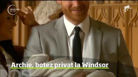 Harry şi Meghan îşi vor boteza fiul la Capela Windsor