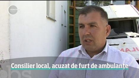 Un consilier local din Gorj a furat bucată cu bucată două ambulanţe
