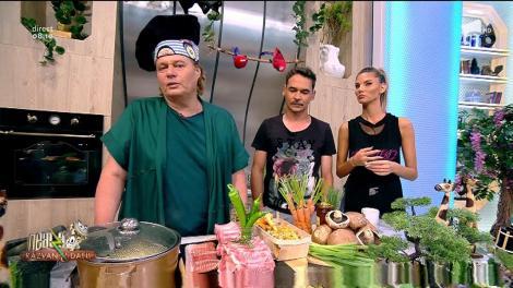 Rețeta zilei - Neatza cu Răzvan şi Dani. Coaste de porc cu două tipuri de ciuperci