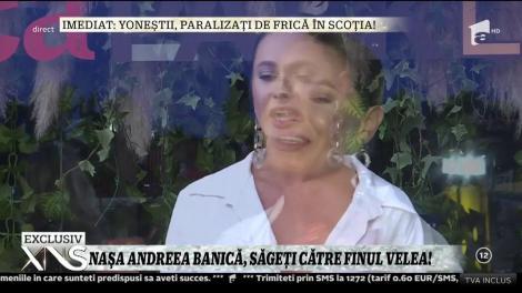 Naşa Andreea Bănică, săgeţi către finul Alex Velea!