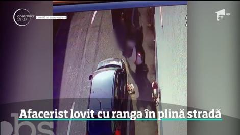Scene de o violenţă extremă în Târgu-Jiu.  Un om de afaceri a fost bătut cu bestialitate