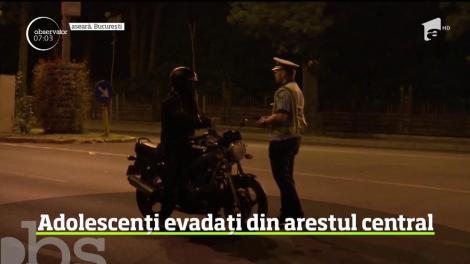 A fost stare de alertă în Bucureşti după ce doi adolescenţi au evadat din arestul central al Poliţiei Capitalei