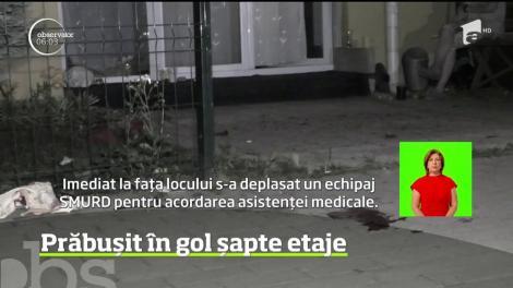Cascadorie cu final dramatic pentru un bărbat de 41 de ani din Braşov